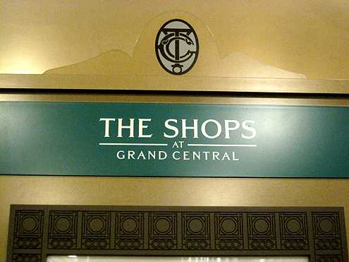 Grand Central Terminal now has The Shops at Grand Central, which has made the station a shopping and dining destination