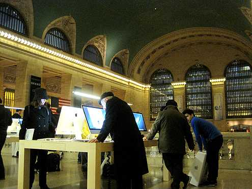 I would like to see an Apple concept like this inside LA Union Station