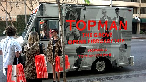 Brands like Top Man (of Top Shop) now see Downtown LA as a place to target potential customers, but when will they actually open up a store here?