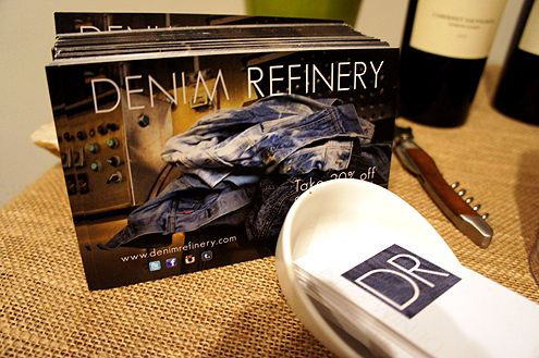 Denim Refinery is located in Ste 808 in the historic Collection Building near 7th/Grand