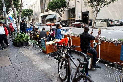 Parklets may be small, but they build community