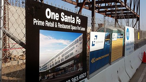 One Santa Fe will include new retail, dining, office, theater, and possible new grocery store
