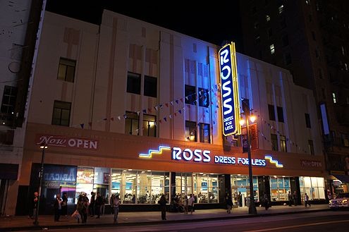 The new Ross Dress for Less takes over the historic Woolworth Building on Broadway in Downtown LA