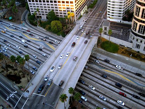 To encourage more residents who live in the growing City West district to walk, it is important to improve the overpasses that connect to the Financial District