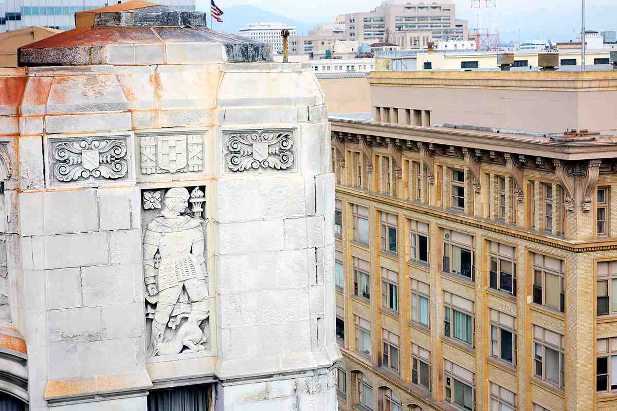 The beautiful Art Deco Foreman & Clark with its striking architectural reliefs is slated to be converted to an upscale boutique hotel, possibly the Hyde Hotels, from its prior use as a jewelry mart