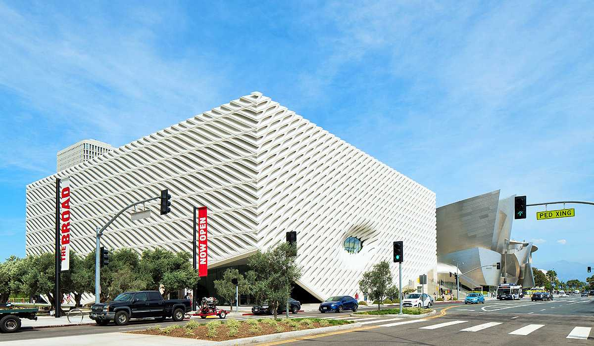 Now open in Downtown LA, the new $140 million Broad Museum houses billionaire Eli Broad's 2,000 piece contemporary art collection (Photo: Hunter Kerhart Photography)