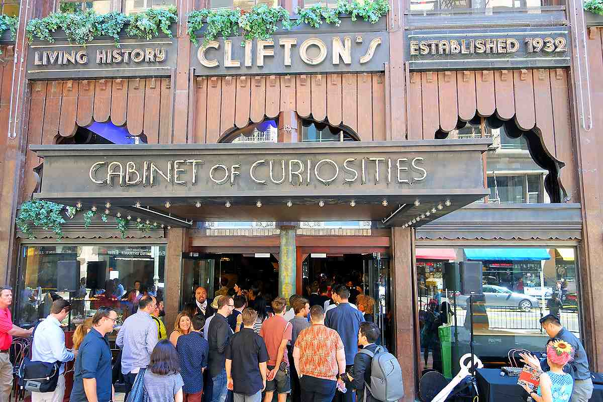 Half Decade Later: Restored Clifton's Cafeteria Reopens in Downtown LA