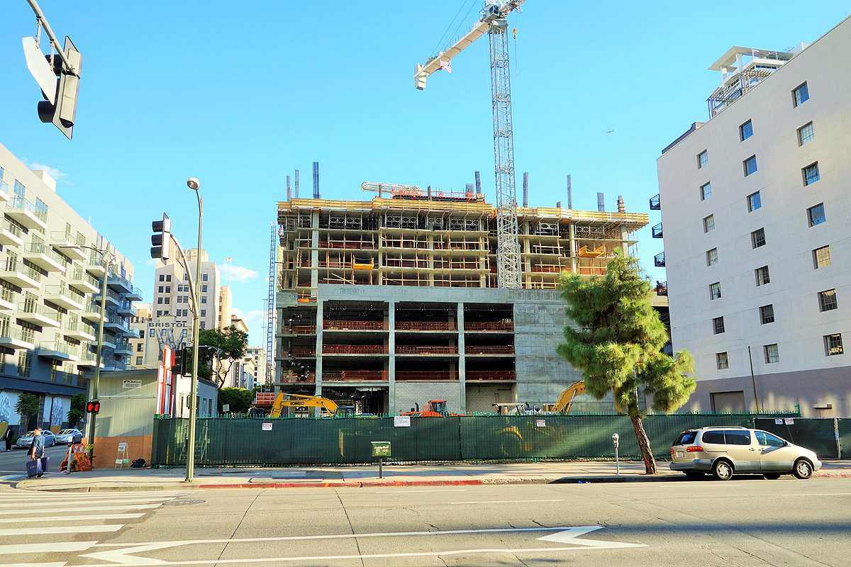 Across the street from the new Whole Foods, a new CVS is coming to 8th/Grand in Downtown LA