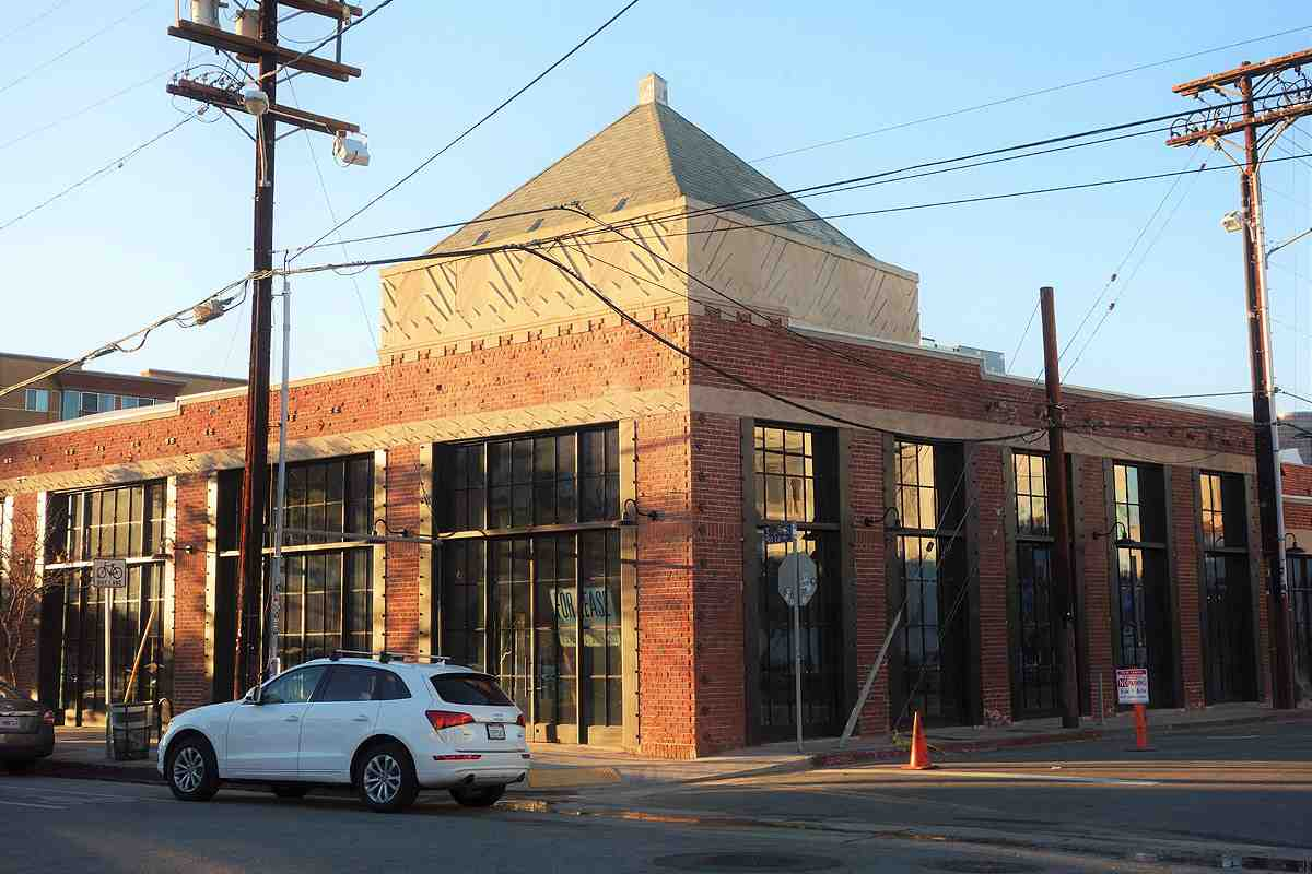 3rd & Garey, an Art Deco warehouse from 1930, is being converted to a retail hub in Downtown LA's Arts District
