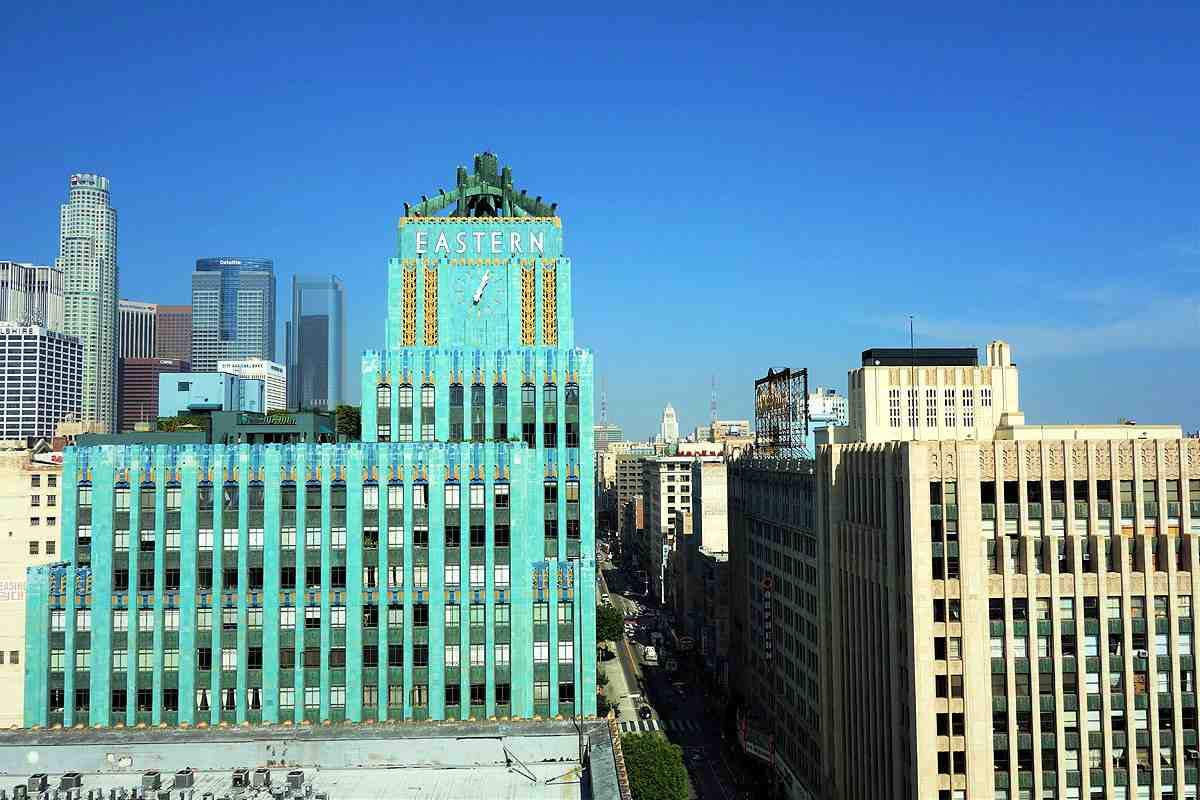 A strong collection of high-end retailers have opened up around the beautiful Eastern Columbia building in Downtown LA, including the upcoming opening of MYKITA
